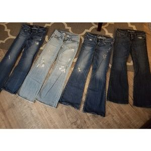 American Eagle Jeans-Size 2 ****SET OF 4****